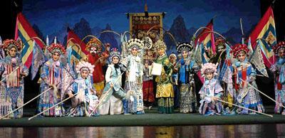 ЭНЦИКЛОПЕДИЯ КИТАЯ Пекинская опера маски Театр Литература  Пекинская опера самая известная китайская опера в мире Она сформировалась 200 лет назад на основе местной оперы хуэйдяо провинции Аньхуэй В 1790 году