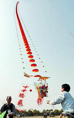 Первые воздушные змеи в Китае